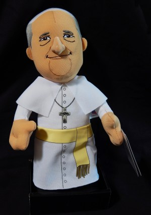 Pope Francis doll-Collectible (demonstrates support for Pope)