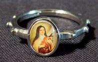 Basque Rosary Ring for Girls