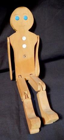 Limber Jack (An articulated dancing doll.)