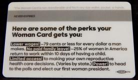 Woman's Identification Card (back)