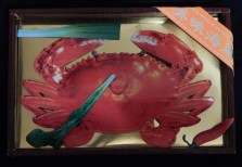 Paper replica of a crab (Joss)