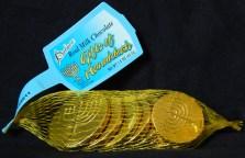 Hanukkah gelt (money)