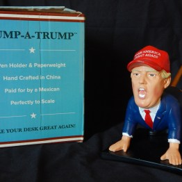"""Dump-a-Trump"" Pencil Holder/Paperweight"