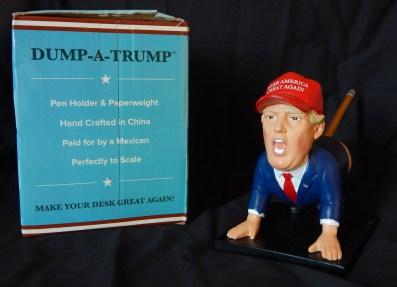 """""""Dump-a-Trump"""" Pencil Holder/Paperweight"""
