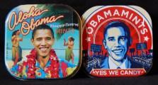 "Memorabilia-Hawaii, USA-American/Popular Culture-Metal/candy-Each tin-1 3/4"" x 1 3/4"""