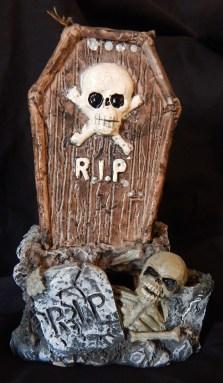 "Halloween decorations-USA-Halloween celebrants/Popular culture-Wax-6 1/2"" tall"