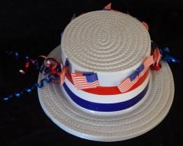 "Costume accessory-USA-American-Plastic/Ribbons-11 1/2"" x 10"""