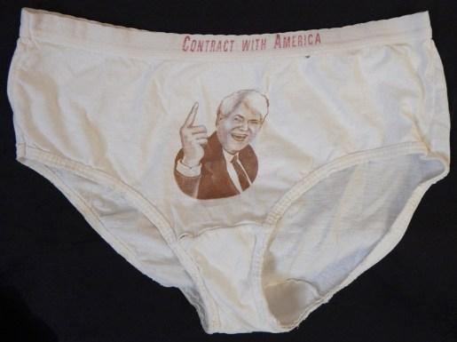 Political Satire by Ligorano/Resse Collaborations-USA-American-Cotton-Size XL
