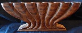 "To celebrate Kwanzaa-United States (African American Cultural Center in Los Angeles)-African American-Wood-10 1/4"" x 4 1/4"""