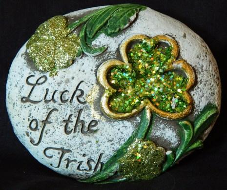 """Luck of the Irish"" Rock"