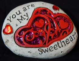 """You are my Sweetheart"" Rock"