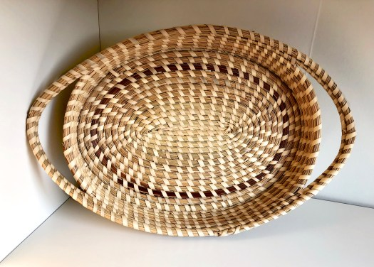 "Sea Grass Basket, 8"" x 12"" circa 2013/unknown artist."
