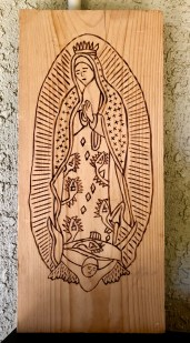 Virgin of Guadalupe-By Pete Tafoya Taos, NM May 1992