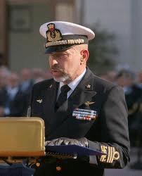 Il nuovo Capo di SMM , amm. Giuseppe De Giorgi