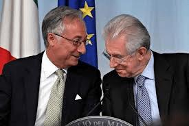 Il Ministro della F.P. Patroni Griffi con il Presidente Monti