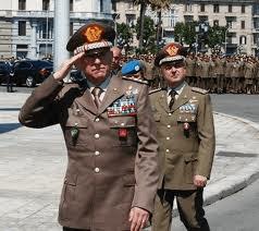 Il Capo di SME, gen. Claudio Graziano