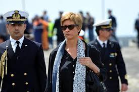 Il Sottosegretario delegato, on. Roberta Pinotti