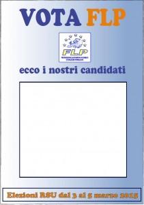 Locandina - I nostri candidati