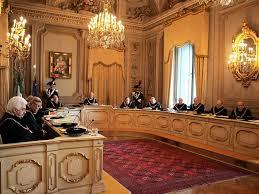 Una seduta della Corte Costituzionale