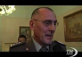 Il gen. GB Borrini, che ha disposto la soppressione al 30 giugno dei COM LOG