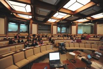 L'aula della Commissione Difesa del Senato, sede dell'audizione