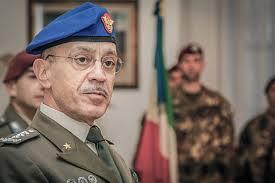 Il capo di SME, gen. C.A. Danilo Errico