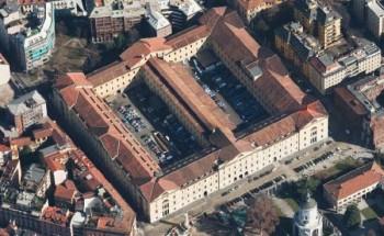 La caserma Garibaldi di piazza S.Ambrogio in Milano