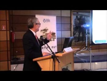 L'ing. Anselmino parla all'evento CESMA a maggio 2015