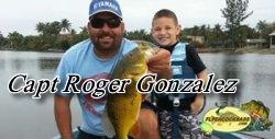 Capt Roger - Florida Peacock bass fishing guides