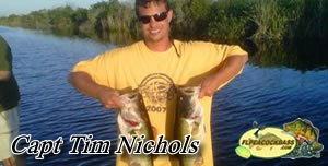 Capt Tim - Florida Peacock bass fishing guides