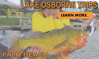 Lake Osborne Palm Beach - Florida Peacock Bass Fishing Locations
