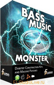 P5Audio - Bass Music Monster Dubstep Construction Kits