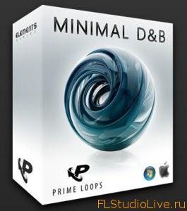 Комплект сэмплов и лупов Prime Loops Minimal D&B - для FL Studio