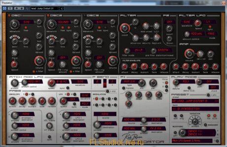 VST плагин Rob Papen Predator v1.6.3 AU VST - для FL Studio