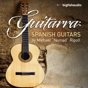 Лупы и сэмплы гитары Big Fish Audio - Guitarra Spanish Guitar Loops для FL Studio 10