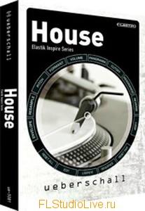 Коллекция лупов Ueberschall House Elastik Inspire Series ELASTiK для FL Studio