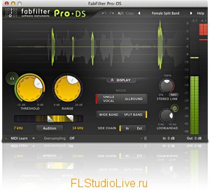 Пакет плагинов для FL Studio: Fab Filter Plugins Pack
