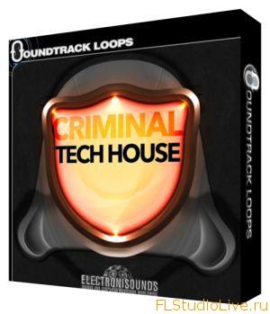 Скачать сэмплы для FL Studio 10 Soundtrack Loops Criminal Tech House