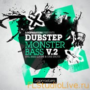 Скачать Dubstep сэмплы для FL Studio 10 Loopmasters - Dubstep Monster Bass Vol 2