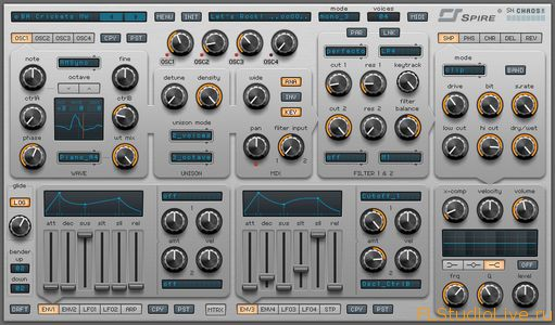 VST Плагин для FL Studio Reveal Sound Spire v0.9.10 VSTi x86 x64