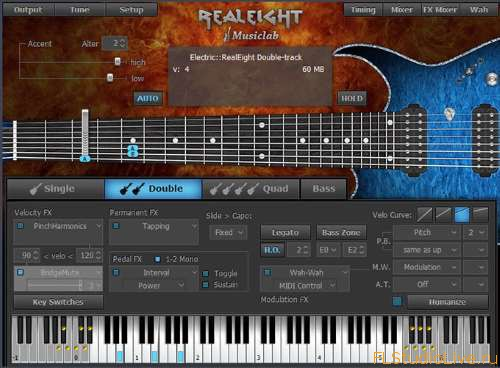 Cкачать VST plugin для FL Studio MusicLab RealEight