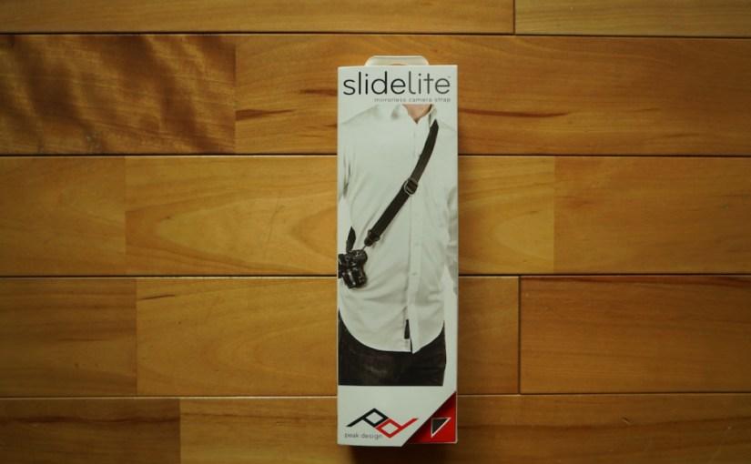 伸縮自在カメラストラップ「Peek design SlideLite」スライドライト