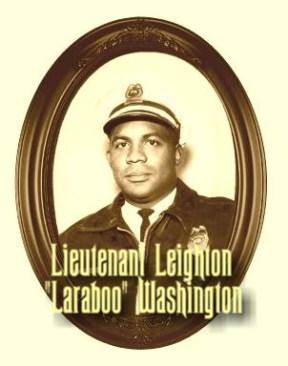 """Lieutenant Leighton """"Laraboo"""" Washington"""