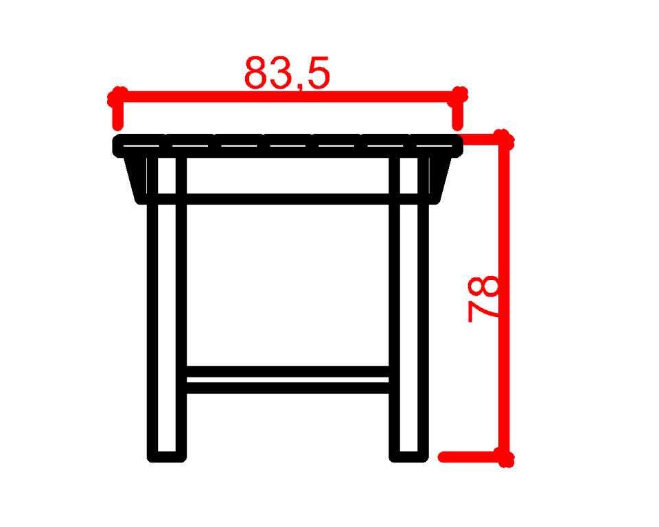 Tisch Schnitt