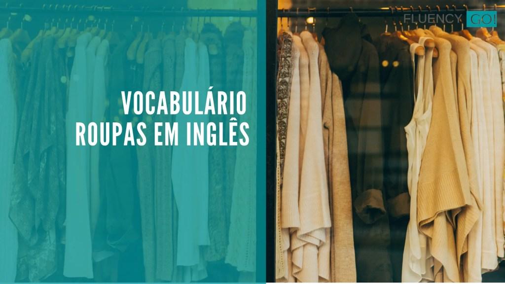 roupas em inglês