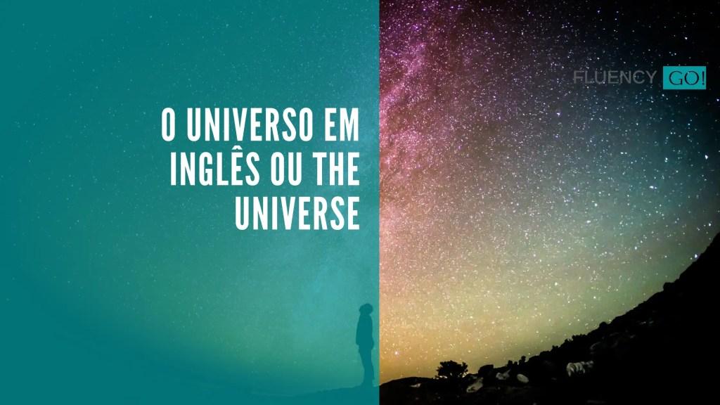Universo em inglês