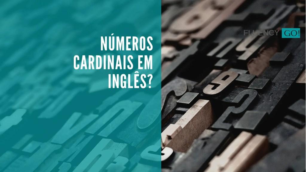 Números cardinais em inglês