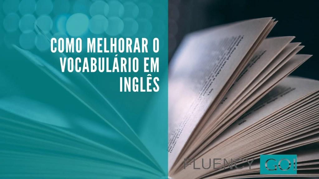 vocabulário em inglês
