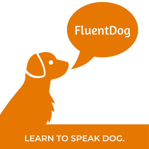 Fluent Dog Logo Dog Training Gaithersburg