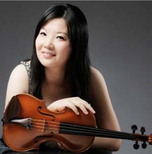 Shu-Ting Yao, a Washington, D.C.-based violinist.